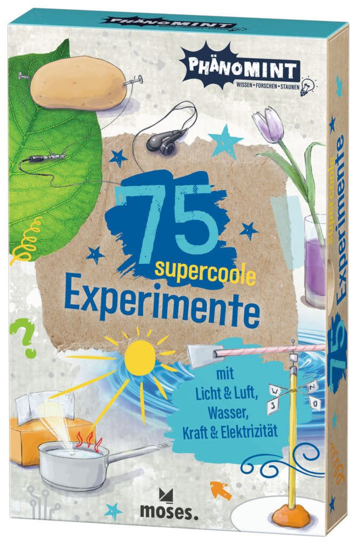 moses 75 Supercoole Experimente Mit Licht & Luft