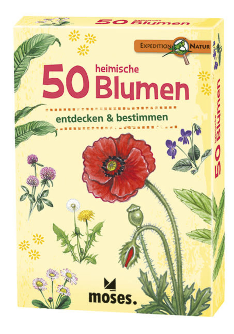 moses 50 Heimische Blumen
