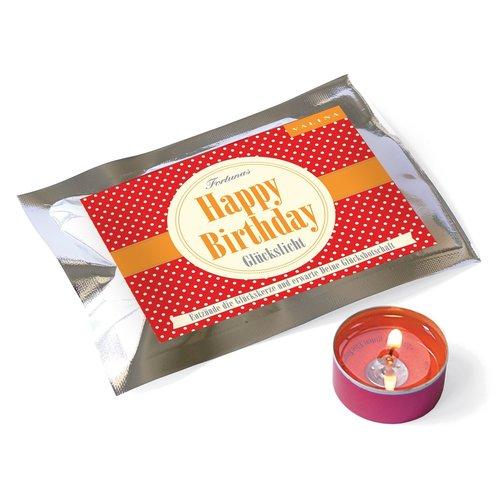 Glückslicht «Happy Birthday»