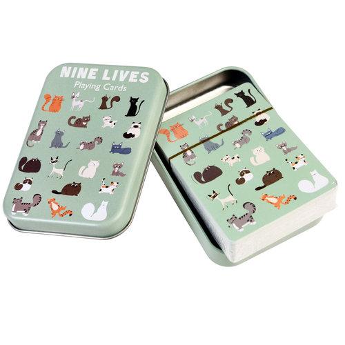 Rex International Pokerkarte «Nine Lives»