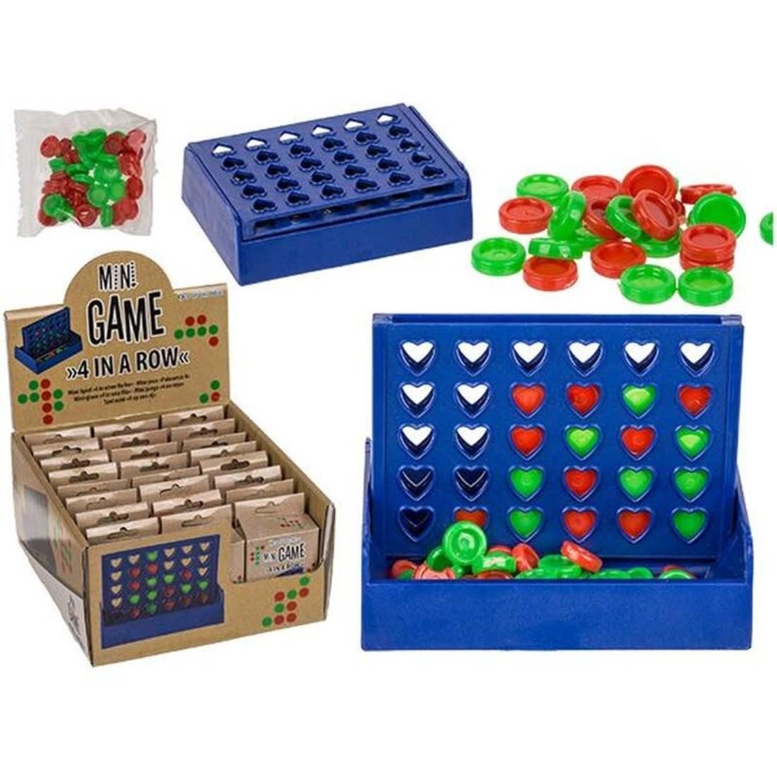 Out of the Blue Mini Spiel «Vier in einer Reihe»