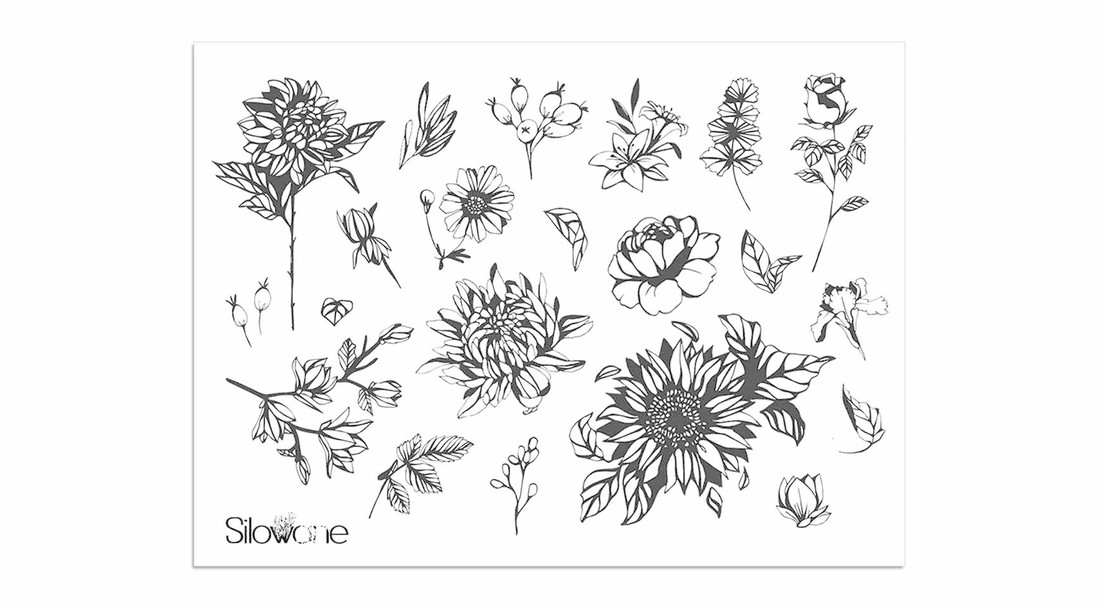 Sioou Tattoo Blume