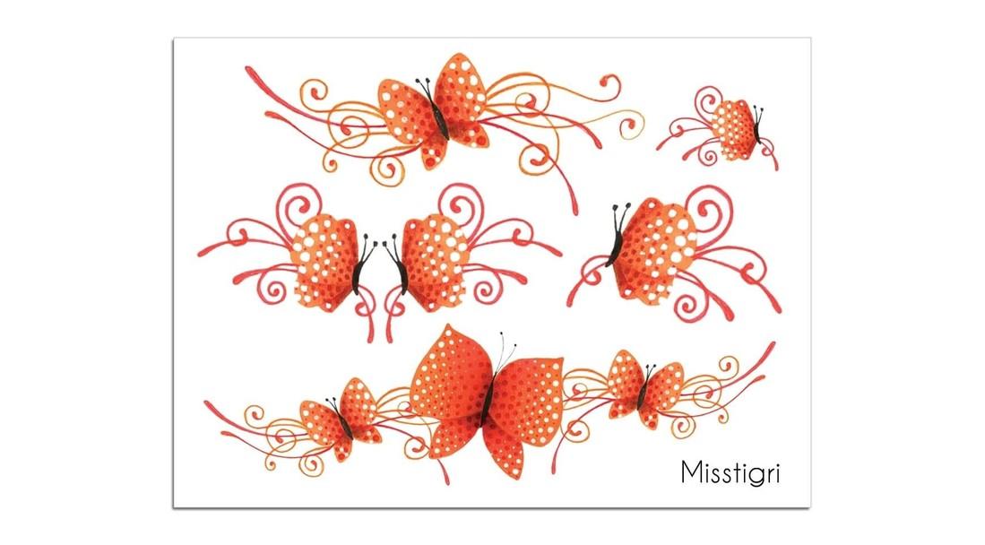 Sioou Tattoo Schmetterling