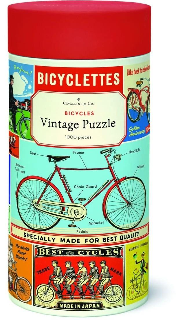 Cavallini Puzzle «Bicycles»