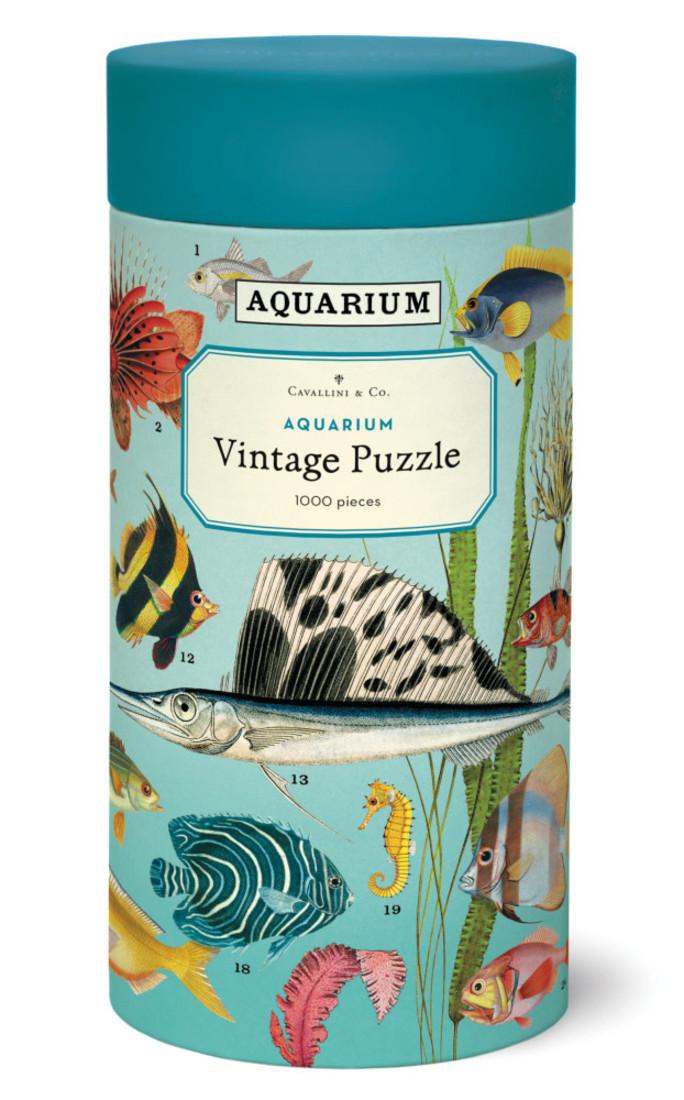 Cavallini Puzzle «Aquarium»