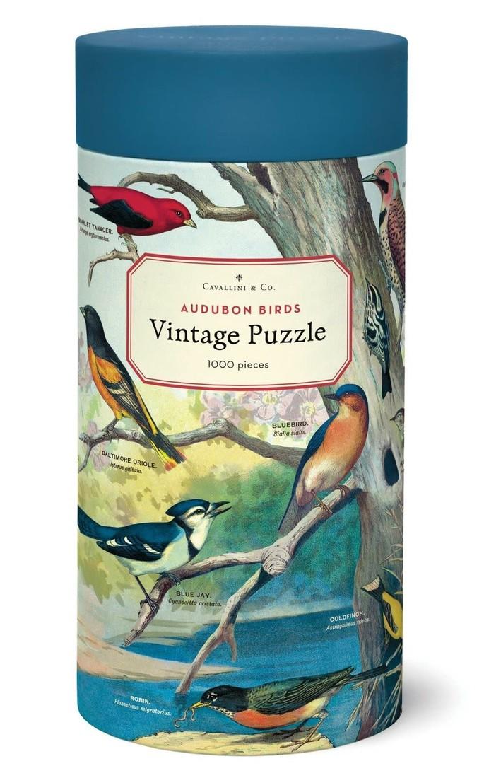 Cavallini Puzzle «Audubon Birds»