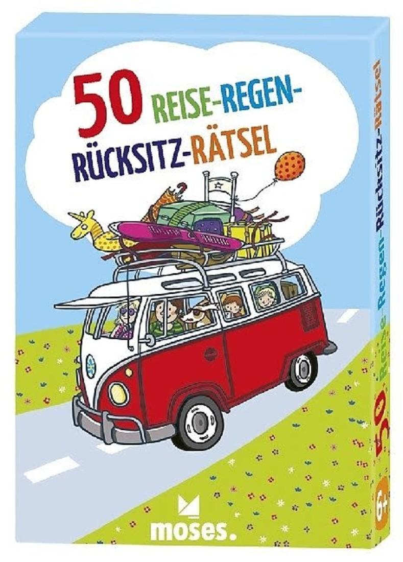 moses 50 Reise-Regen-Rücksitz-Rätsel