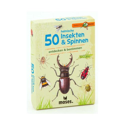 moses 50 heimische Insekten & Spinnen