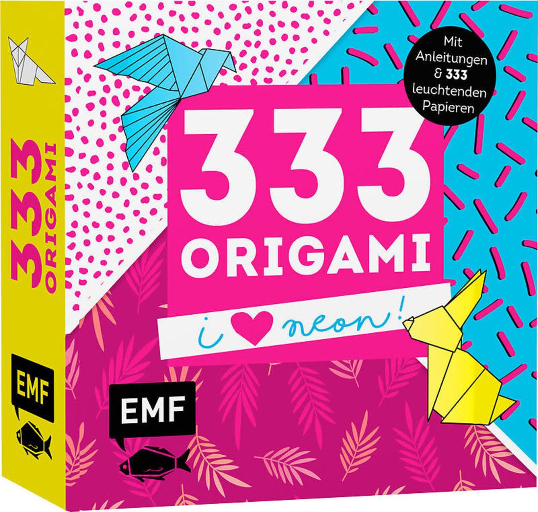 EMF 333 Origami I love Neon!