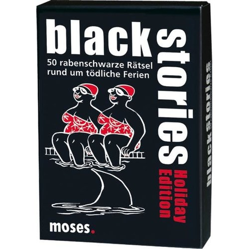 moses Black Stories - Holiday Edition