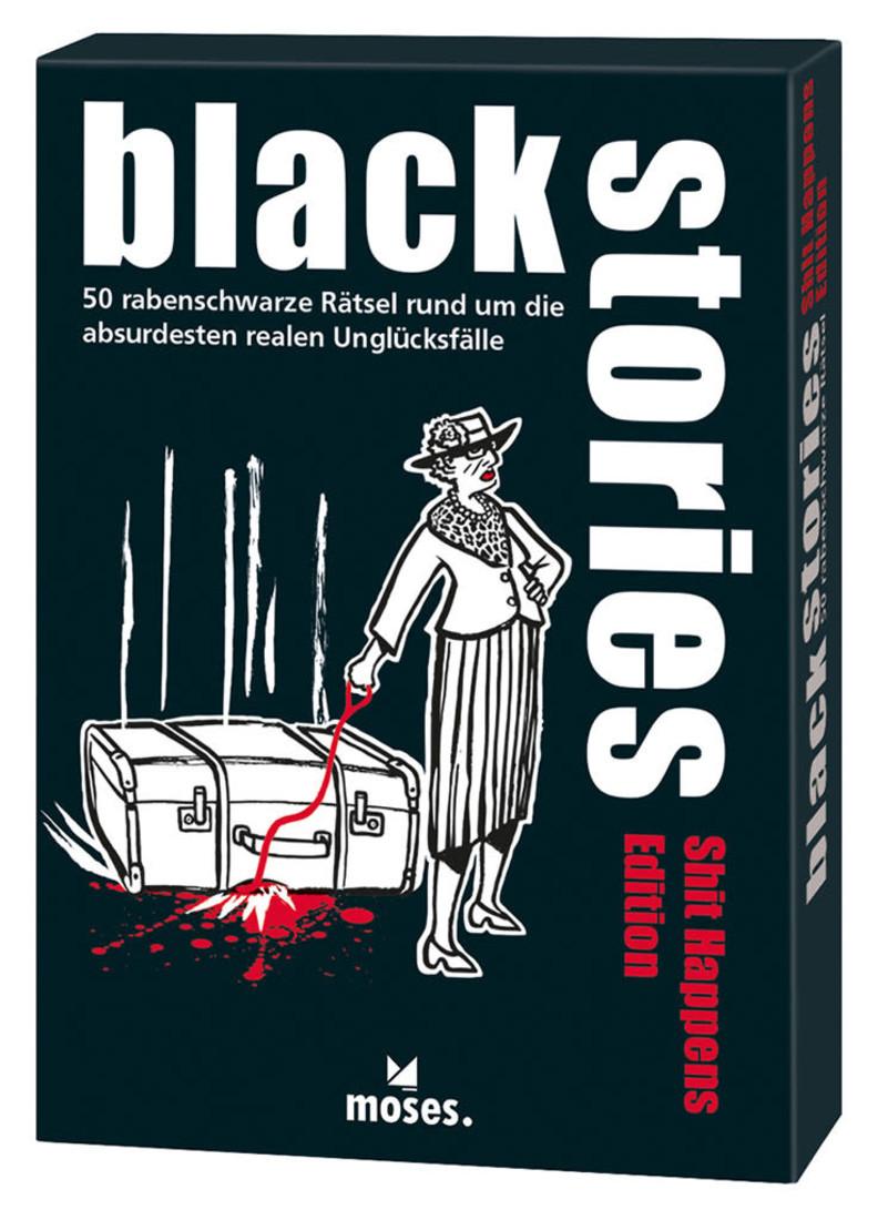 moses Black Stories - Shit Happens Edition