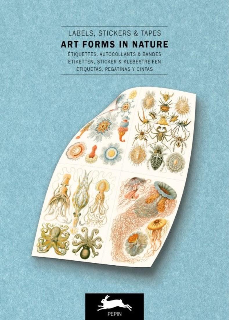 Pepin Label & Sticker Book - Art Forms in Nature