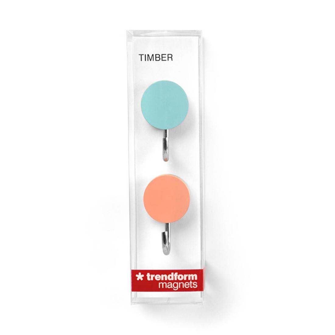 Magnethaken TIMBER HOOK 2er Set