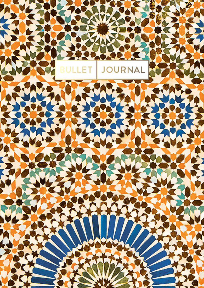 Bullet Journal «Pocket colorful Marocco»
