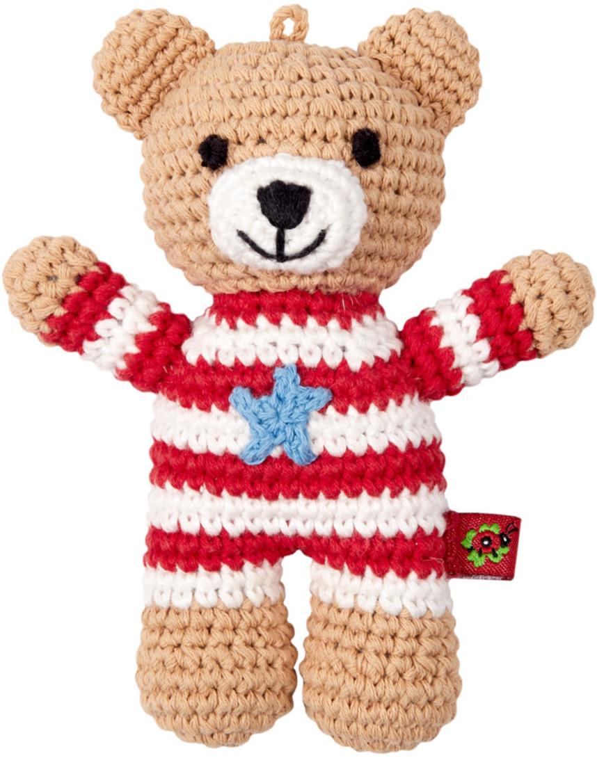 Häkel Rassel Teddy