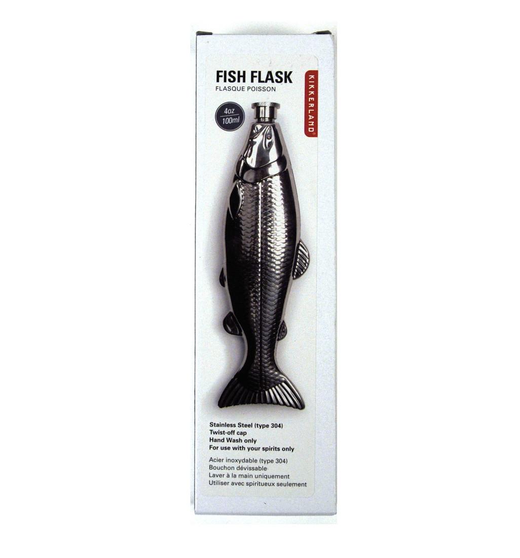 Fischflasche Flachmanns