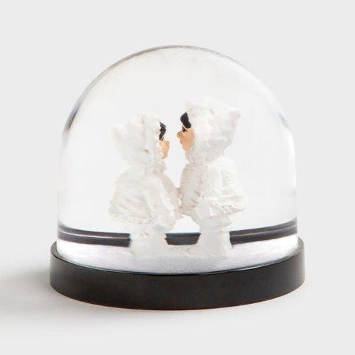 & klevering Schneekugel Eskimos
