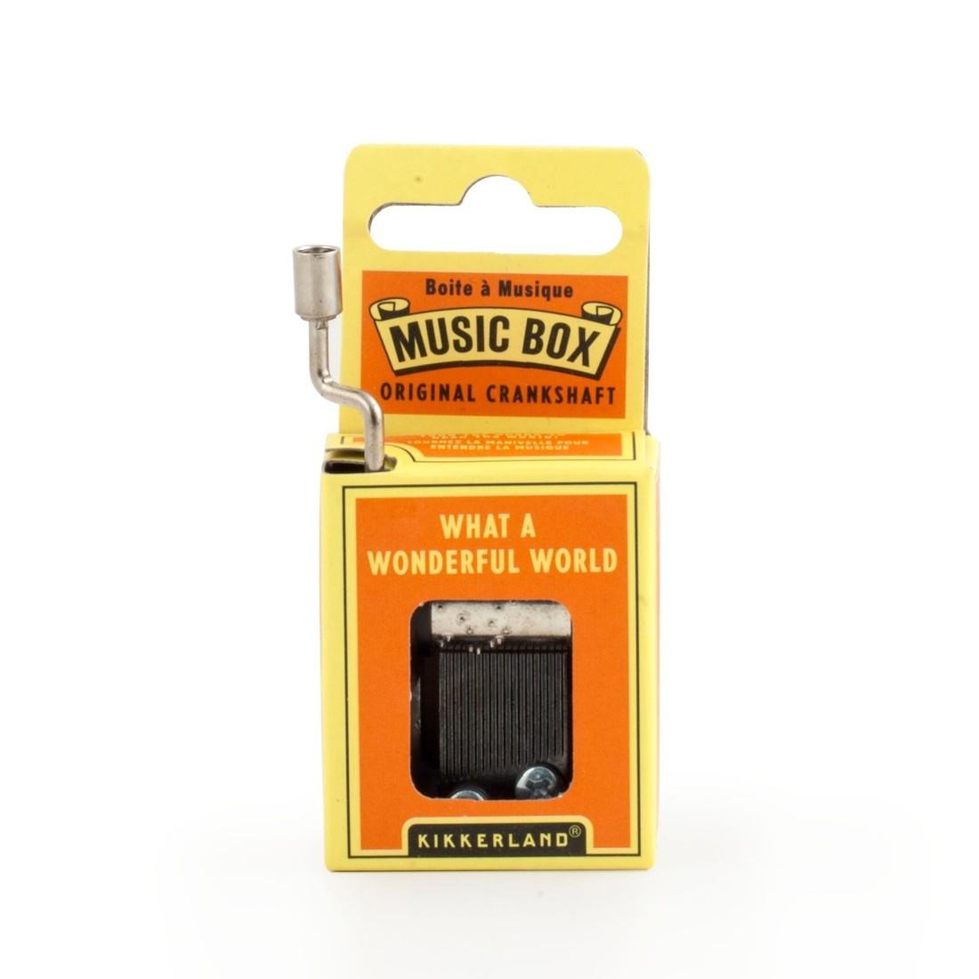 Musik Box - What A Wonderful World