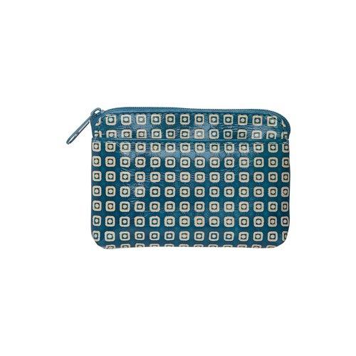 Tranquillo Geldbörse blau-weiss Gemustert