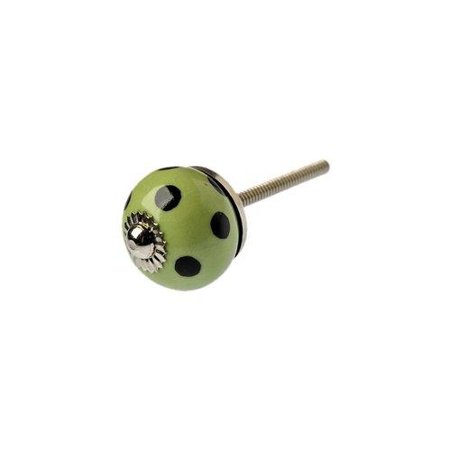 Tranquillo Knauf - grün mit schwarzen Punkten