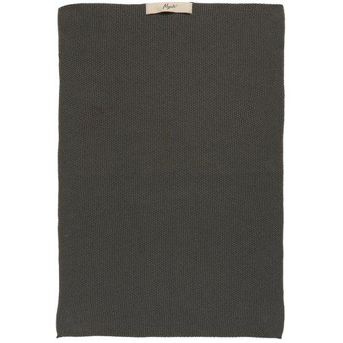 Handtuch «Mynte» grau gestrickt