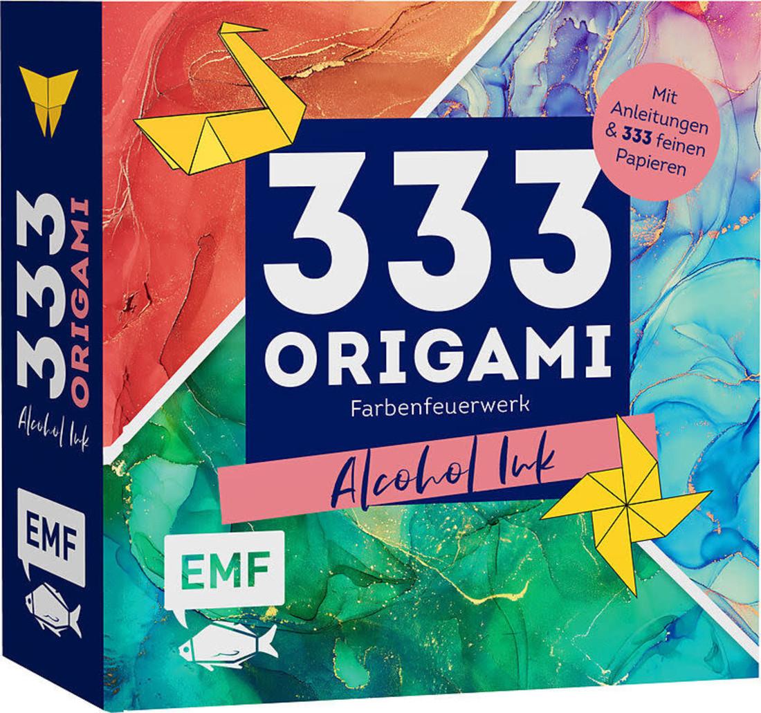 EMF 333 Origami - Alcohol Ink