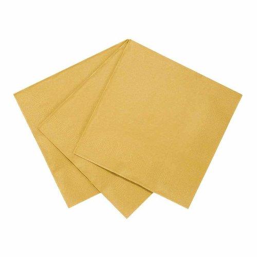 Talking Tables Papierservietten gold