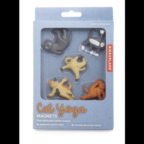 Magnete Yoga Katzen