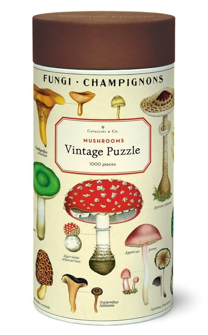 Cavallini Puzzle «Mushrooms»