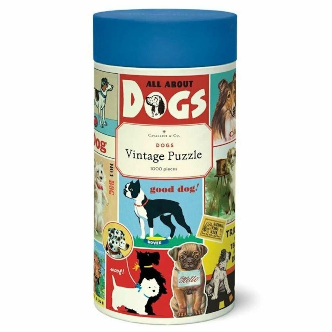Cavallini Puzzle «Dogs»
