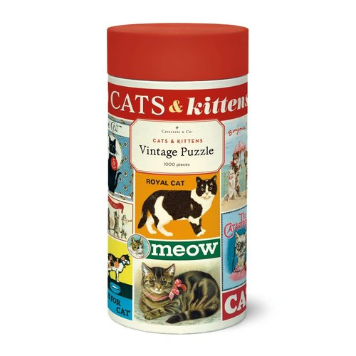 Cavallini Puzzle «Cats & Kittens»