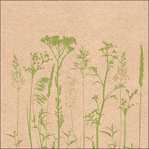 Papierservietten Kräuter & Blumen