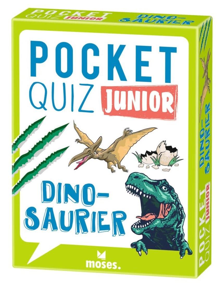 moses Pocket Quiz Junior - Dinosaurier