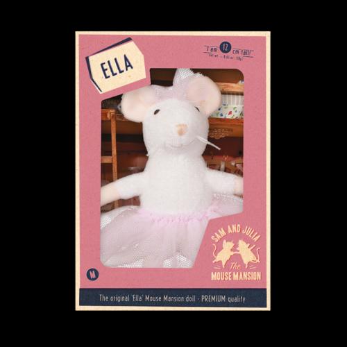 Het Muizenhuis Maus Puppe Ella