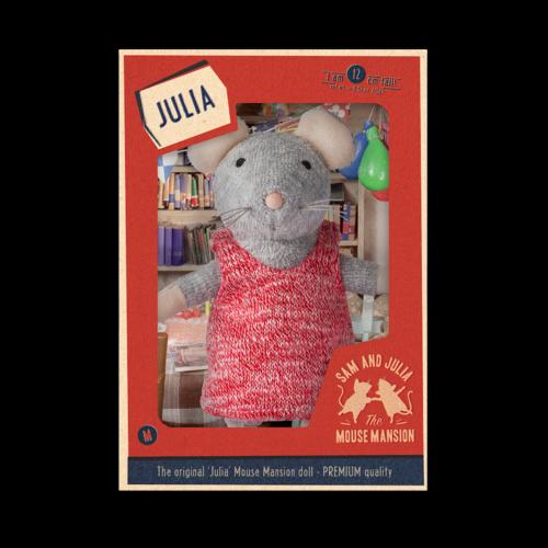 Het Muizenhuis Maus Puppe Julia