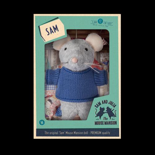 Het Muizenhuis Maus Puppe Sam