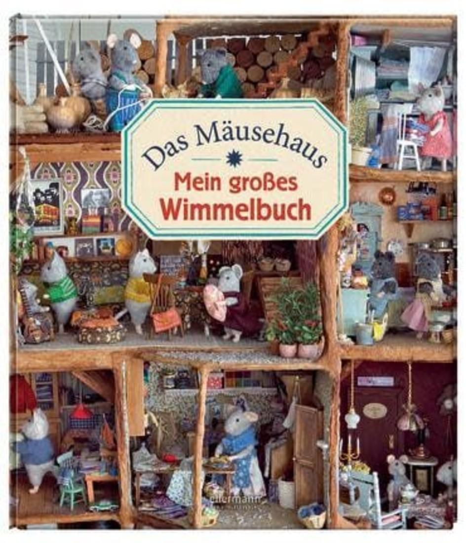 Het Muizenhuis Mein Grosses Wimmelbuch das Mäusehaus