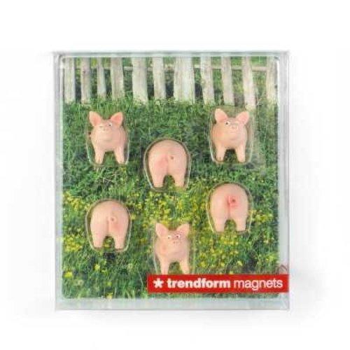 Trendform Magnet Set Schwein