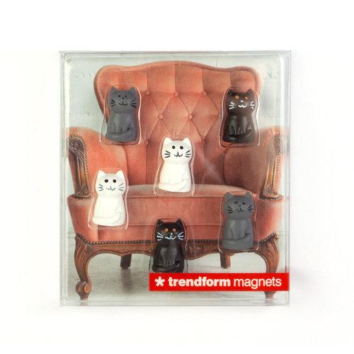 Magnet Set Katze