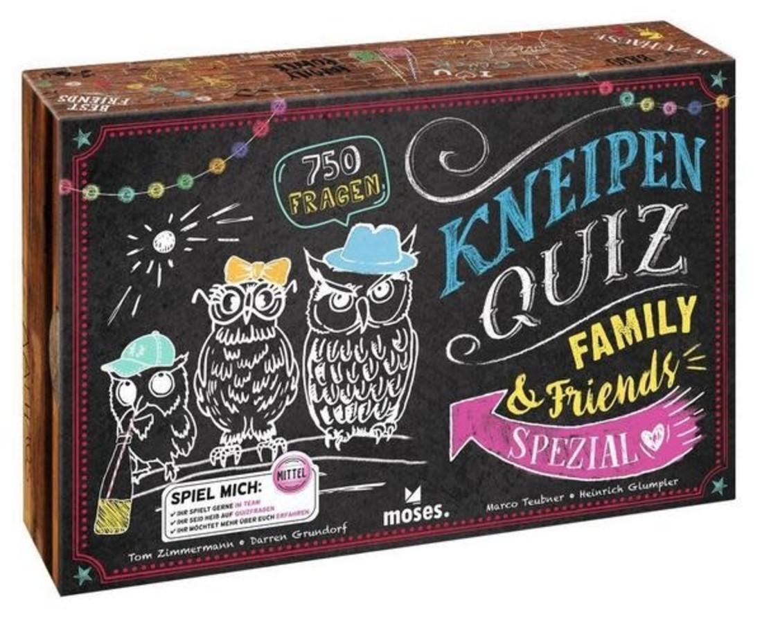 moses Kneipenquiz Family & Friends Spezial