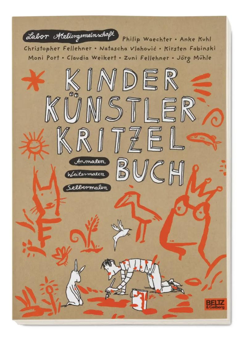 AVA Kinder Künstler Kritzelbuch