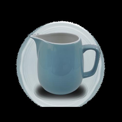 Rössler Porzellan Milchkrug  60s «Revival» blau