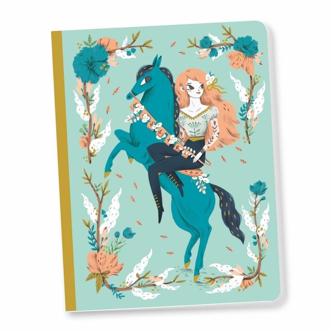 Djeco Notizbuch «Lucille» A5