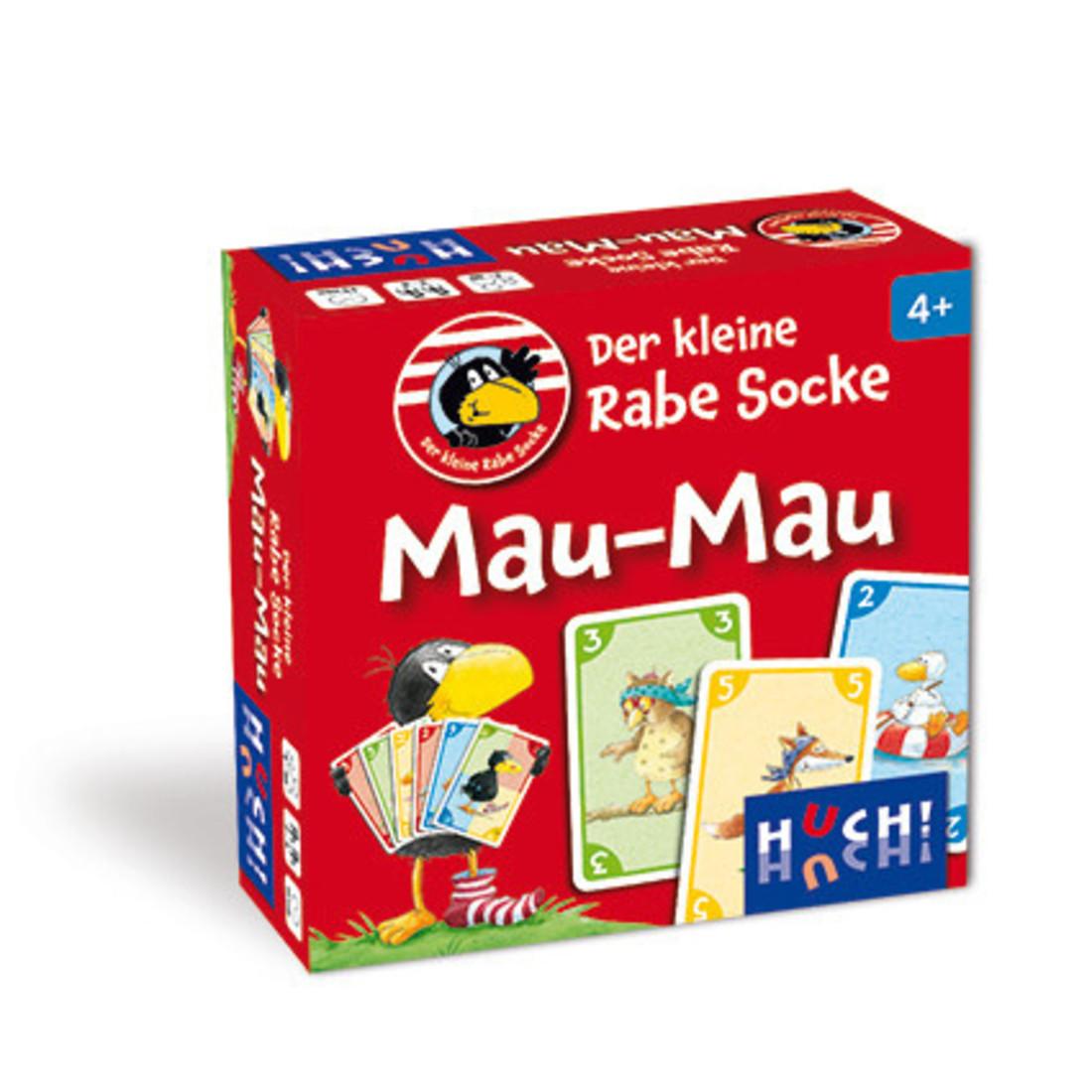 Djeco Der kleine Rabe Socke - Mau Mau