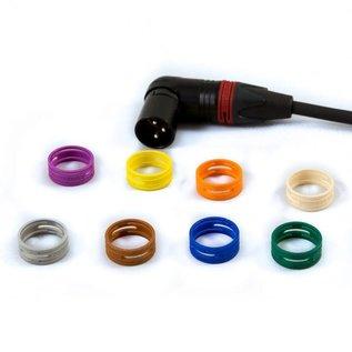 XLR kabel, female haaks - male haaks, verguld