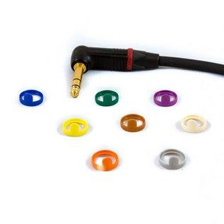 Jack haaks - XLR female kabel, verguld