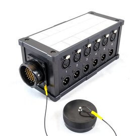 LK37 stagebox met 12 in/uit