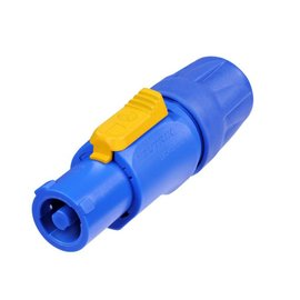 Neutrik NAC3FCA Powercon kabeldeel blauw