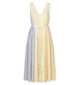 MIX TEXTURE DRESS