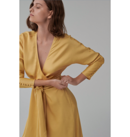 MIDI DRESS YELLOW